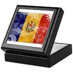 Moldova Flag Keepsake Box