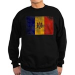Moldova Flag Sweatshirt (dark)