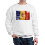 Moldova Flag Sweatshirt