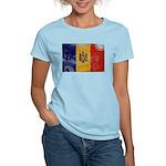 Moldova Flag Women's Light T-Shirt