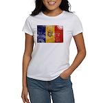 Moldova Flag Women's T-Shirt