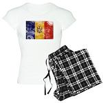 Moldova Flag Women's Light Pajamas