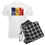 Moldova Flag Men's Light Pajamas