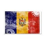 Moldova Flag Car Magnet 20 x 12