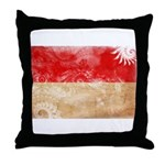 Monaco Flag Throw Pillow