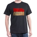Monaco Flag Dark T-Shirt
