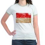 Monaco Flag Jr. Ringer T-Shirt