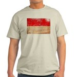 Monaco Flag Light T-Shirt
