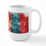 Mongolia Flag Large Mug