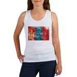 Mongolia Flag Women's Tank Top