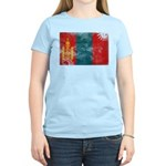 Mongolia Flag Women's Light T-Shirt
