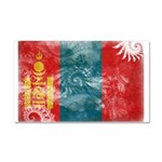 Mongolia Flag Car Magnet 20 x 12