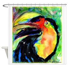 Toucan! wildlife art! Shower Curtain