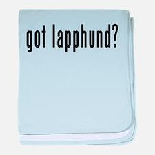 GOT LAPPHUND baby blanket