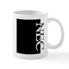 NEC Typography Mug