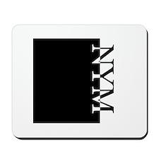 NYM Typography Mousepad