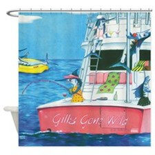 Gills Gone Wild Shower Curtain