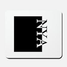 NYA Typography Mousepad