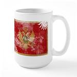 Montenegro Flag Large Mug
