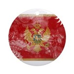 Montenegro Flag Ornament (Round)