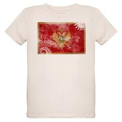 Montenegro Flag Organic Kids T-Shirt