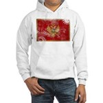 Montenegro Flag Hooded Sweatshirt