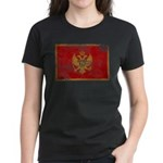 Montenegro Flag Women's Dark T-Shirt
