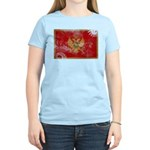 Montenegro Flag Women's Light T-Shirt