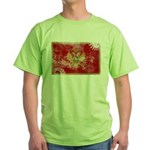 Montenegro Flag Green T-Shirt