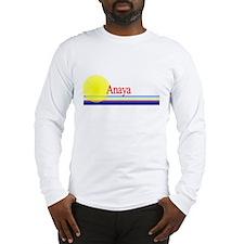 Anaya Long Sleeve T-Shirt