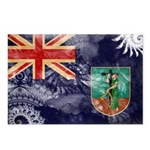 Montserrat Flag Postcards (Package of 8)