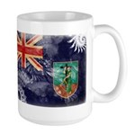 Montserrat Flag Large Mug