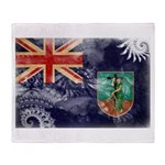 Montserrat Flag Throw Blanket