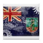 Montserrat Flag Tile Coaster