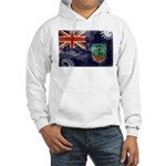 Montserrat Flag Hooded Sweatshirt