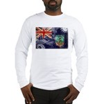 Montserrat Flag Long Sleeve T-Shirt