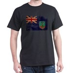 Montserrat Flag Dark T-Shirt