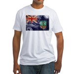 Montserrat Flag Fitted T-Shirt