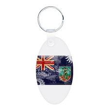 Montserrat Flag Keychains