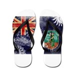 Montserrat Flag Flip Flops
