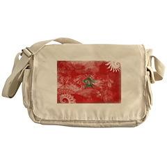 Morocco Flag Messenger Bag