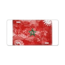 Morocco Flag Aluminum License Plate