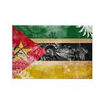 Mozambique Flag Rectangle Magnet (10 pack)