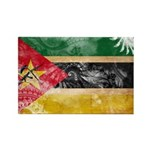 Mozambique Flag Rectangle Magnet