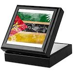 Mozambique Flag Keepsake Box