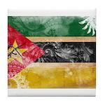 Mozambique Flag Tile Coaster