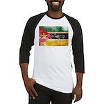 Mozambique Flag Baseball Jersey