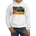 Mozambique Flag Hooded Sweatshirt