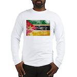 Mozambique Flag Long Sleeve T-Shirt