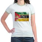 Mozambique Flag Jr. Ringer T-Shirt